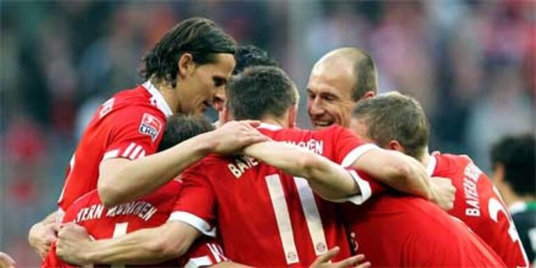 Bayern München überrollt Hannover