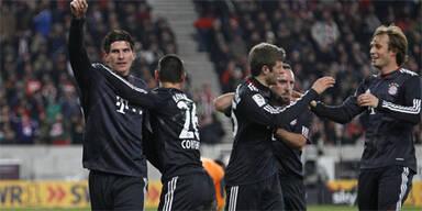 Bayern-Sieg trotz Harnik-Doppelpacks