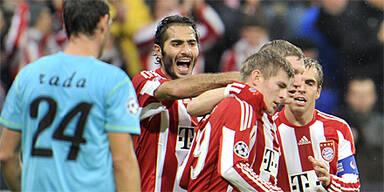 Dusel-Bayern feiern dritten CL-Sieg