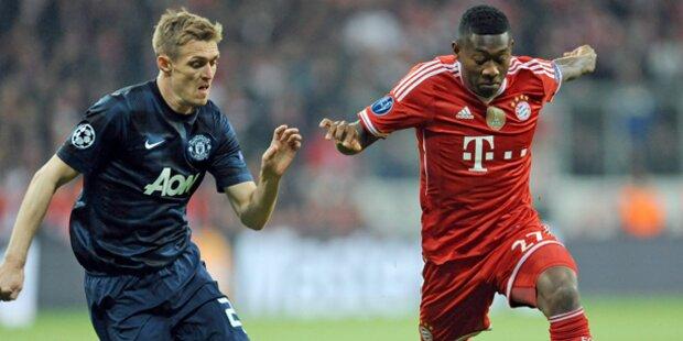 Bayern dreht Spiel gegen ManU