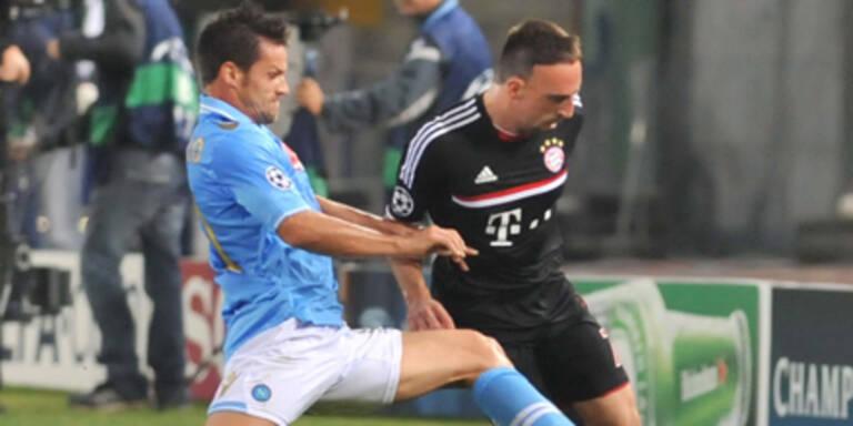Bayern nur Unentschieden gegen Napoli