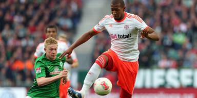 Bayern siegten auch in Bremen