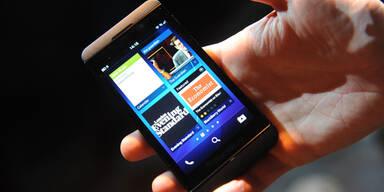 Neuer Blackberry Z10 überzeugt in Tests