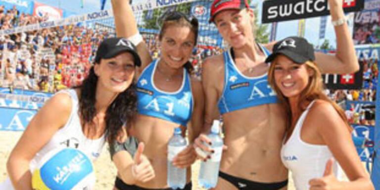 Beachvolley-Grand-Slam in Klagenfurt gestartet