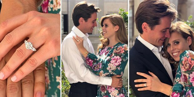 Prinzessin Beatrice und ihr Edoardo sind verlobt