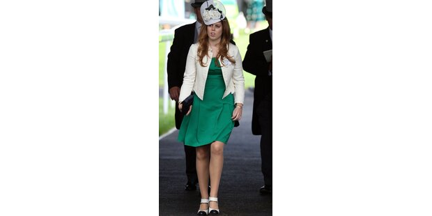 Prinzessin Beatrice im Low-Budget-Outfit