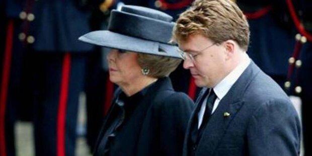 Lawinen-Drama: Königs-Sohn im Koma
