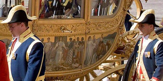 Wirbel um Gemälde auf Kutsche von Königin Beatrix