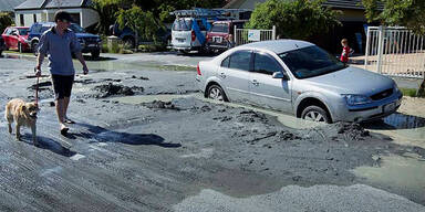 Erdbeben in Christchurch (23.12.2011)