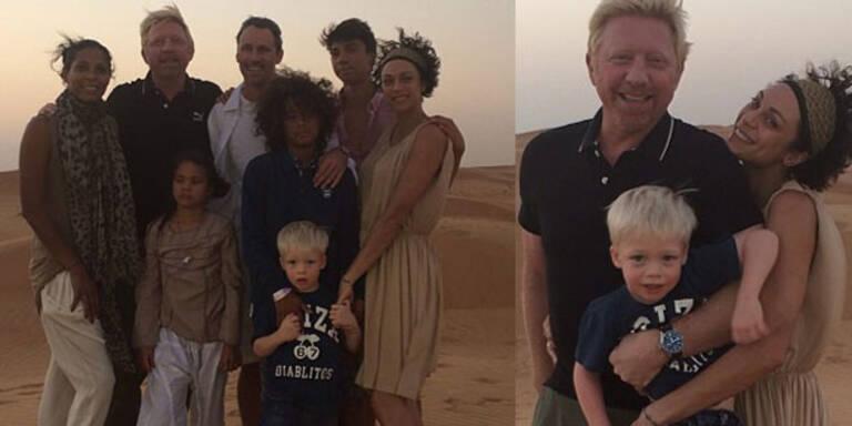 Nach der harten TV-Schlacht gegen Oliver Pocher haben sich Boris und Lilly den kleinen Urlaub im schönen Dubai redlich verdient. Zusammen mit ihrem kleinen Sohn Amadeus genießt das Paar ein bisschen Familie-Zeit.
