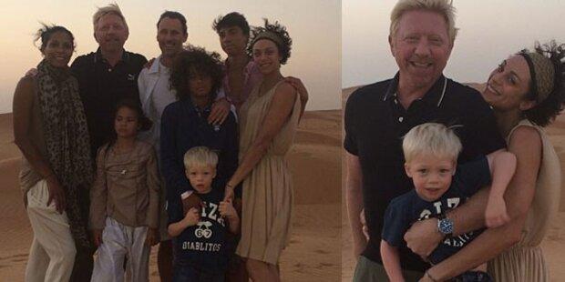 Die Beckers: Familien- Auszeit in Dubai