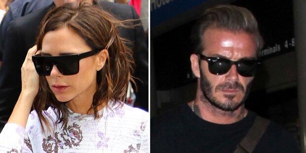 Bald Trennung? Ehekrise bei Beckhams