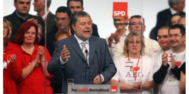 SPD-Beck will von Linksruck nichts wissen