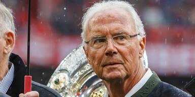 """Beckenbauer: """"Bin nicht mehr der Alte"""""""