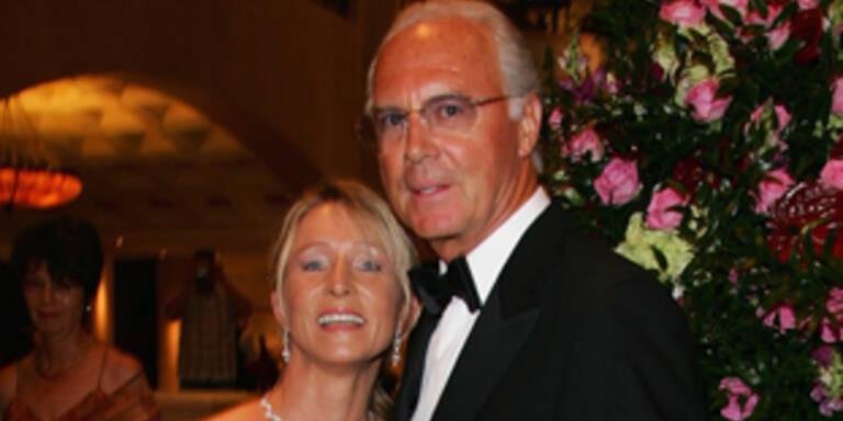 Franz und Heidi Beckenbauer
