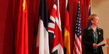 Die britische Außenministerin Margaret Beckett erklärte die Bemühungen um eine Verhandlungslösung im Atomstreit mit dem Iran vorerst für gescheitert.