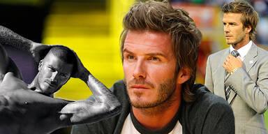 David Beckham Beauty Geheimnis