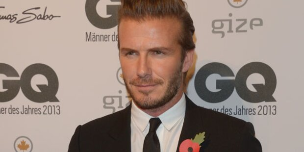 David Beckham: Ich bin eine Heulsuse