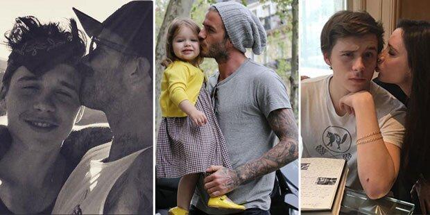 Beckhams: So vernarrt in ihre Kids