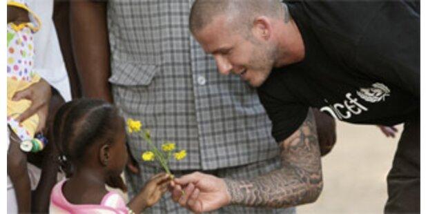 David Beckham mit neuem Victoria-Tattoo