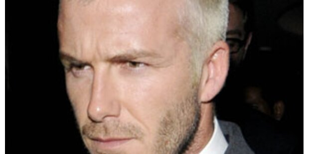 Beckham-Kuss haut weiblichen Fan um