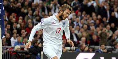 Team-Abfuhr für Beckham von Capello