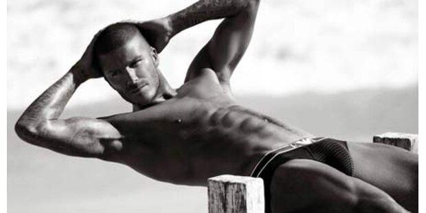 David Beckham geht unter die Designer