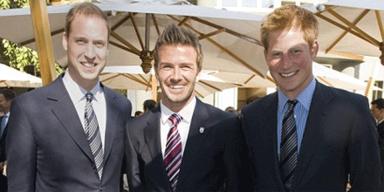 Beckhams haben Hochzeitseinladung von Kate und William