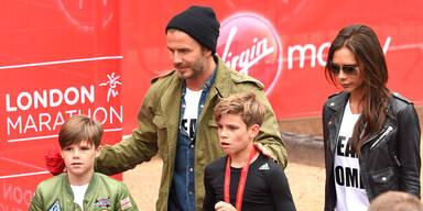 So streng und gesund ernährt sich der Beckham-Clan