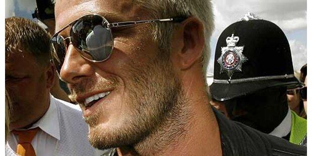 David Beckham ist der männlichste Mann
