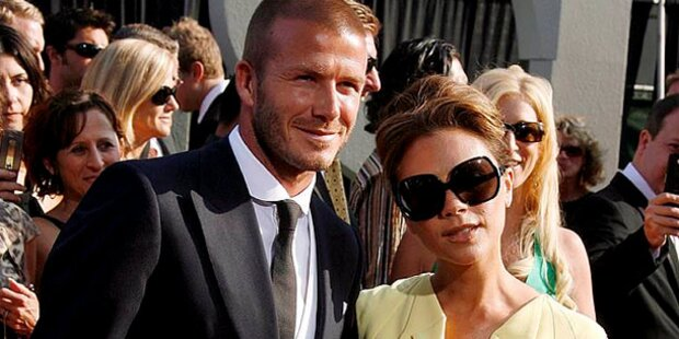Victoria Beckham schwebt im 7. Himmel