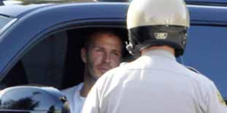 David Beckham: Verkehrssünder