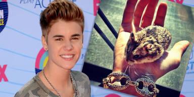 Justin Bieber hat einen Hamster