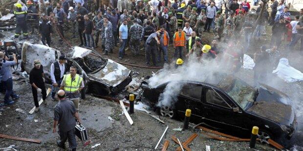 Beirut: 24 Tote bei Terror-Anschlag