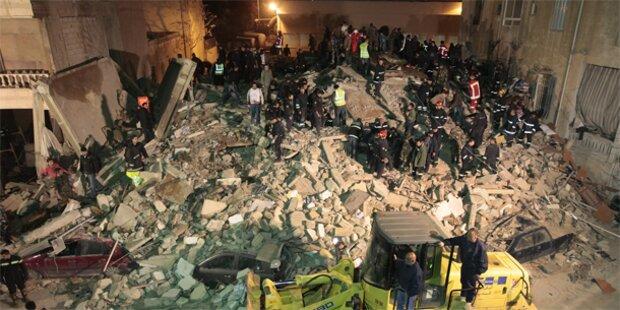 Wohnhaus in Beirut eingestürzt
