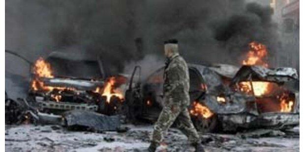 Mehrere Tote bei Anschlag auf US-Botschaftsauto