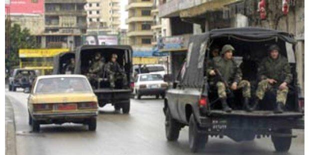 Nach neun Toten bei Unruhen übernahm Armee Beirut