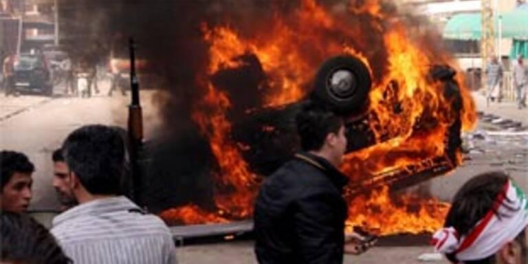 Hisbollah begann Abzug ihrer Kämpfer aus Beirut