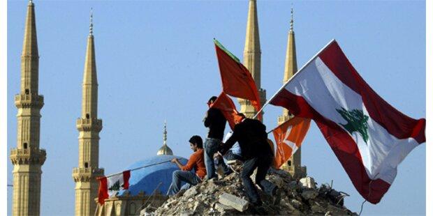 Libanon tief in den roten Zahlen