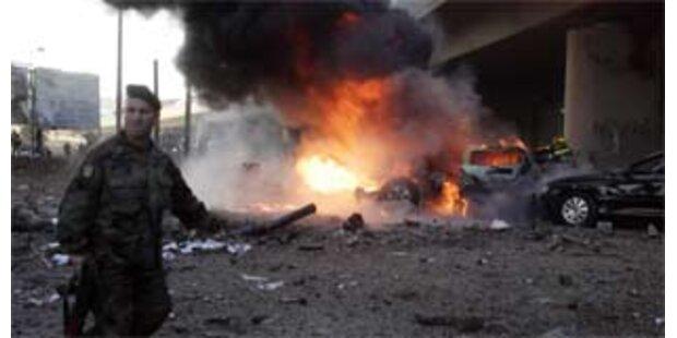 Bombe in Beirut tötet Anti-Terror-Chef