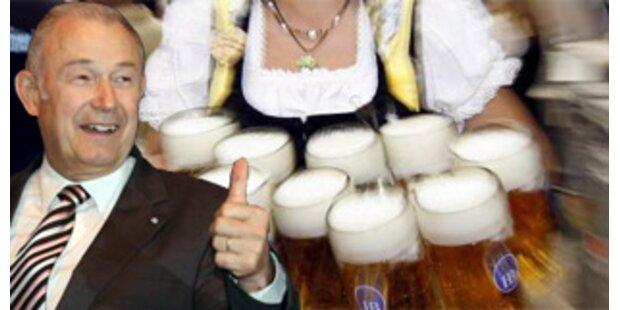 Beckstein hält zwei Maß Bier für verträglich