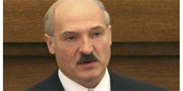Lukaschenko kommt nicht zum EU-Gipfel