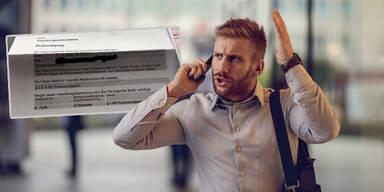 70 Euro Strafe für irre Schimpf-Tirade am Telefon