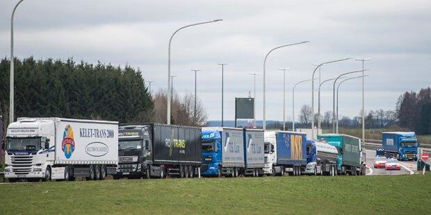 Belgien: Benzin- und Lebensmittelknappheit