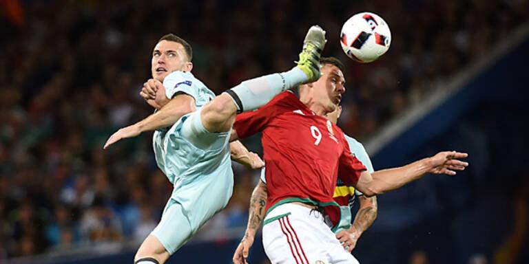 Zwei Stars fehlen bei Belgien-Training