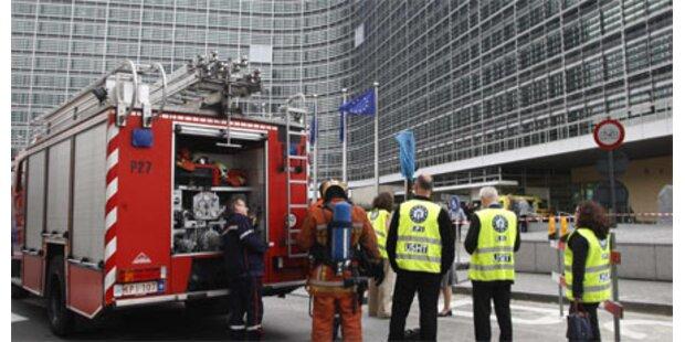 Wieder Feueralarm in der EU-Kommission