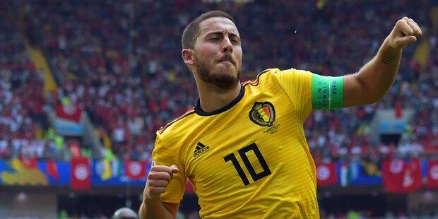 Belgien feiert  5:2-Gala gegen Tunesien