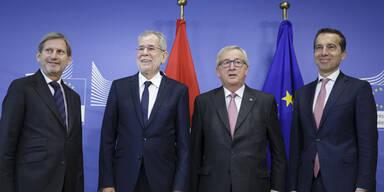 """Van der Bellen auf """"Hausbesuch"""" bei der EU"""
