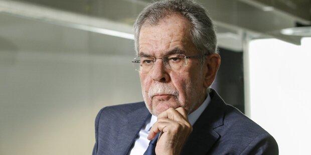 Van der Bellen: Kein Kanzler Strache