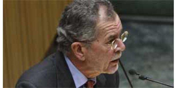 Grüne nominieren Van der Bellen für 3. Präsidenten